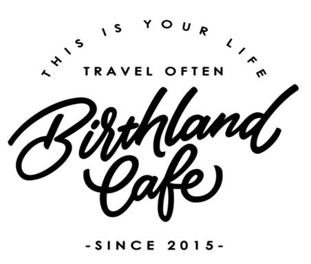 バースランドカフェのロゴ